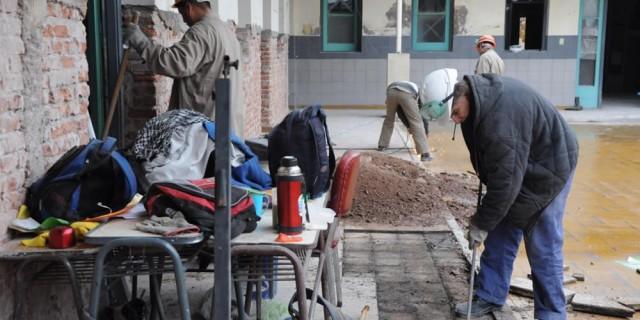 Infraestructura comenzará a reparar diez escuelas de Luján de Cuyo