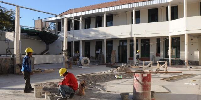 Finaliza la reparación integral de la Escuela Domingo Bombal