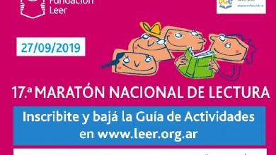 17 - Afiche Maraton Nacional de Lectura- Fundacion Leer