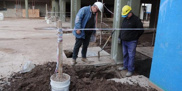 Avanza la reparación integral de la Escuela Lucio Cicchitti