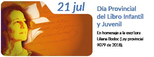 EFEMERIDE_JULIO_DIA PROVINCIAL DEL LIBRO INFANTIL_JUVENIL_BODOC_tX