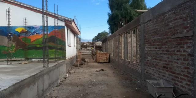 Continúan sin pausa las construcciones y ampliaciones de los edificios para cuatro escuelas