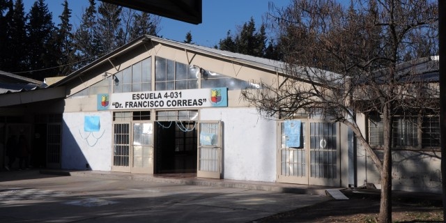 Está al 70% la reparación integral del sistema pluvial de la escuela Francisco Correas