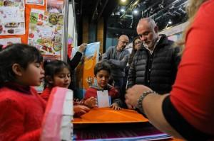 Mendoza 01-08-2019 / Jaime Correas visitó la Feria de Ciencias, Arte, Tecnología y Deportes. Se realizó en el Auditorio Angel Bustelo. En la foto: Jaime Correas (Director General de Escuelas).