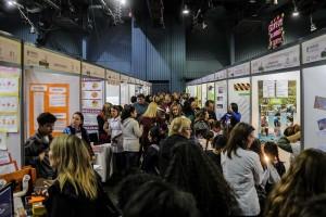 Mendoza 01-08-2019 / Jaime Correas visitó la Feria de Ciencias, Arte, Tecnología y Deportes. Se realizó en el Auditorio Angel Bustelo.