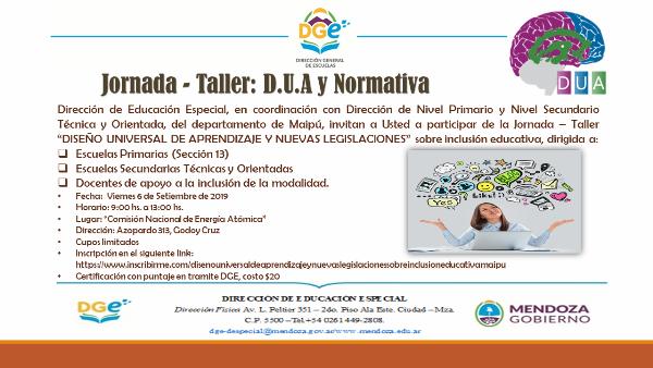 Invitacion Jornada DUA_Maipu_