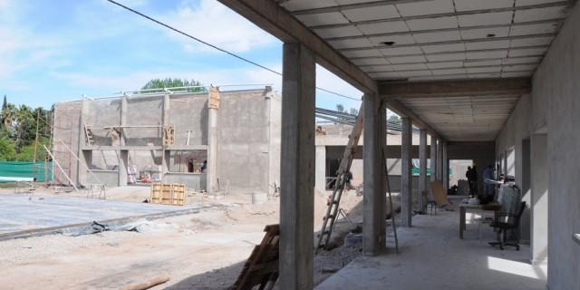 Está al 60% la construcción de la nueva escuela Margarita Ulloa