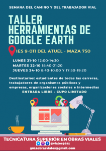 Taller Google Earth