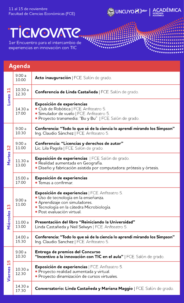 ticnovate-agenda