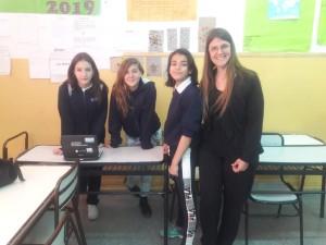 Foto alumnas Olimpíadas