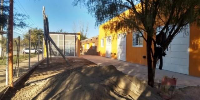 Está lista la ampliación de la última escuela que inaugurará Cornejo