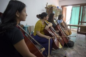 Mendoza 09-01-2020 Se realizó en DOAITE Políticas Socioeducativas unaCapacitación a coros y orquestas a cargo de la chelista Greta Run Snorradottir.