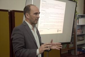 Mendoza 05-02-2020 El director de la DGE Jose Thomas visito  escuelas de Lujan y Maipu.