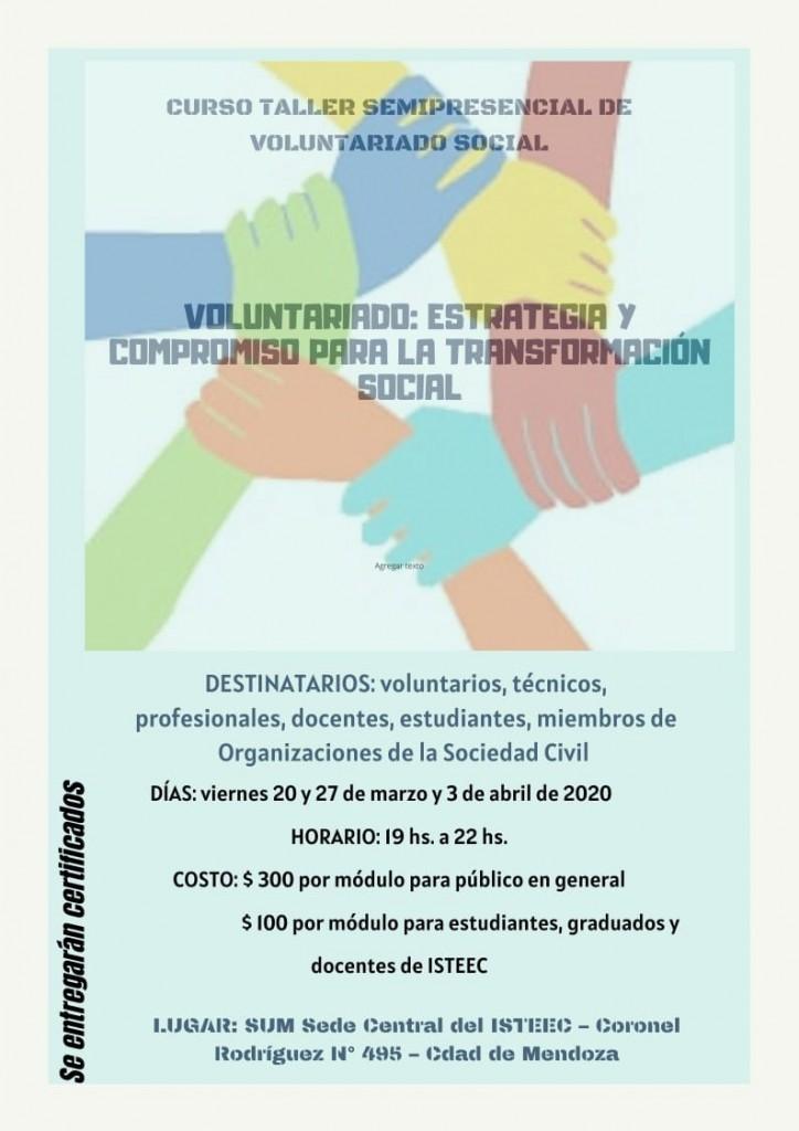 Curso Taller Semipresencial Voluntariado Social_02