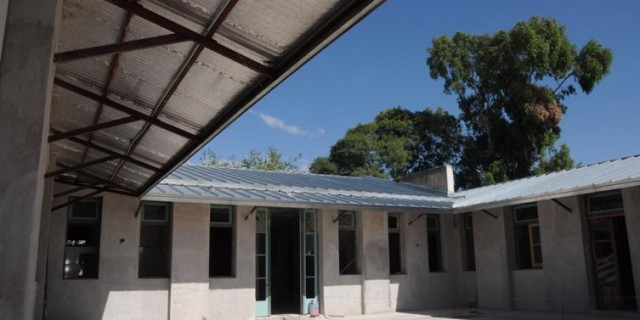 La Escuela Federico Moreno está en 60% de avance de obra