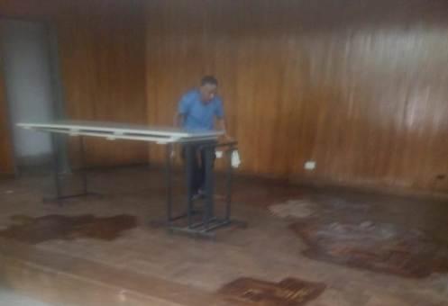 Servicios Generales_Esc. Tomás Godoy Cruz_Reparación Parquet_01