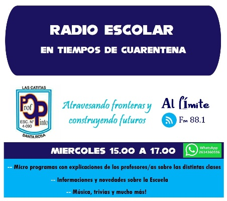 Esc. Osvaldo Pinto_ Radio Escolar Cuarentena_02