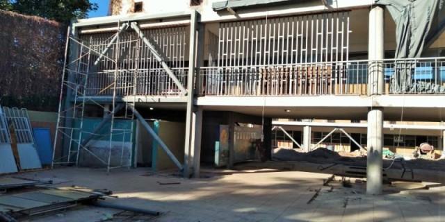 Terminaron las obras de reparación estructural en la Escuela Cicchitti