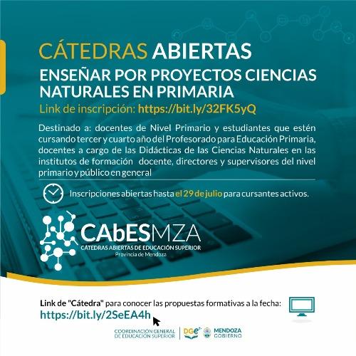 CGED_Enseñanza por Proyectos Ciencias Naturales en Primaria