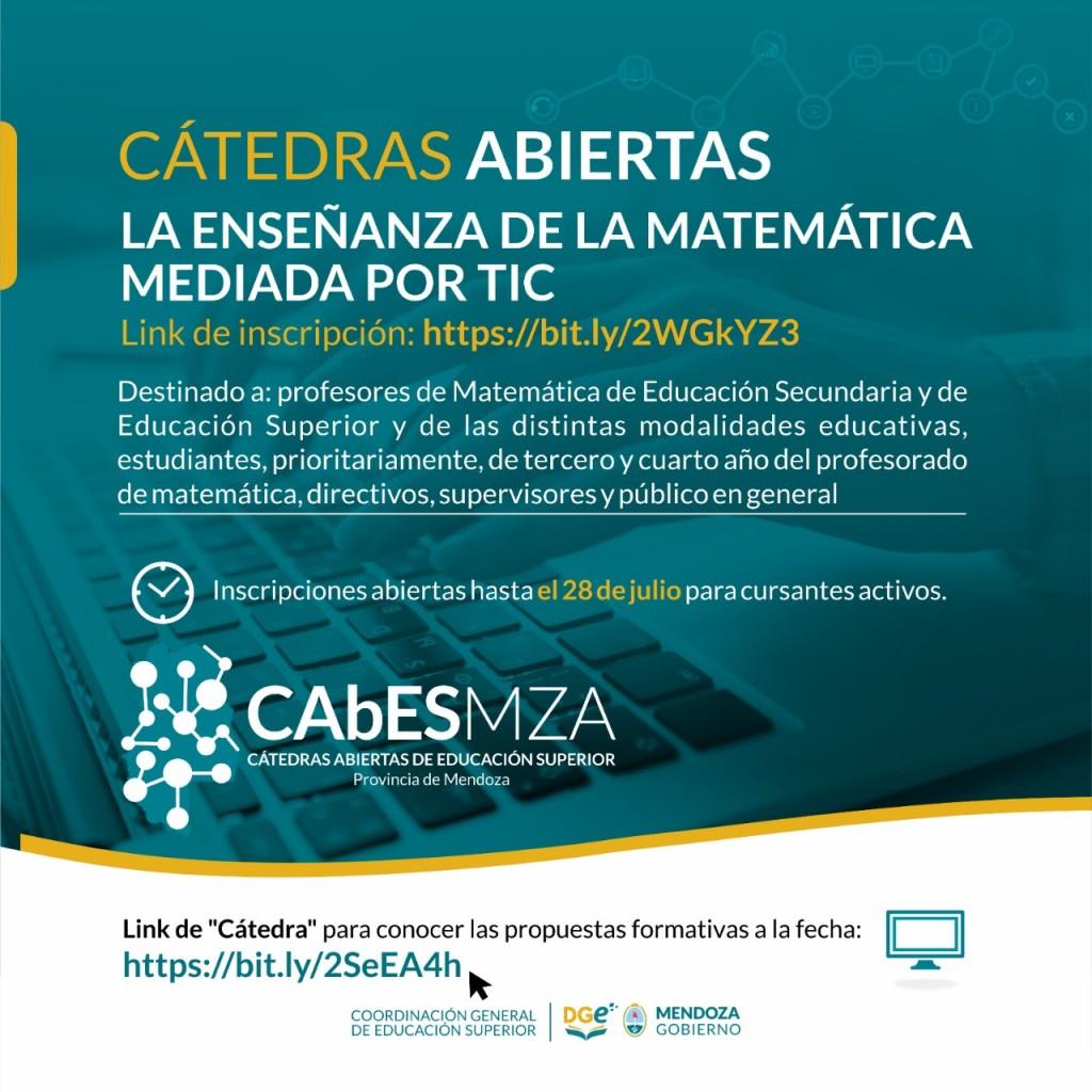 CGES_cátedra abierta y virtual_La enseñanza de la Matemática mediada por TIC_01