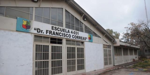Se terminó la reparación integral del sistema pluvial de la Escuela Correas