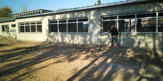 La ampliación y refuncionalización de la Escuela Griselda Guillén estará lista en diciembre