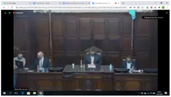 Esc. Iaccarini de San Rafael_alumnos_simularon sesión legislativa por Zoom_01