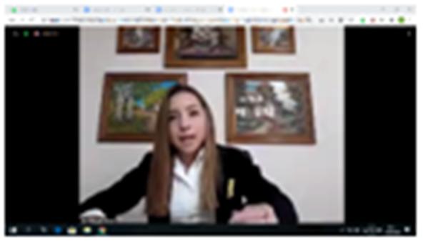 Esc. Iaccarini de San Rafael_alumnos_simularon sesión legislativa por Zoom_06