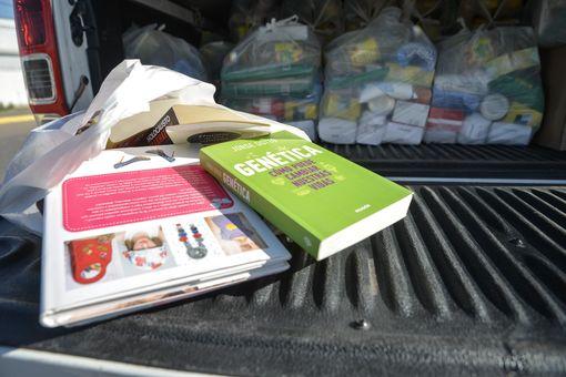 06-10-2020 Recorrido de entrega de bolsones y material pedagógi