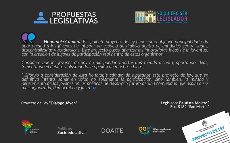 Parlamento Juvenil MERCOSUR_inauguración del XI encuentro (5)