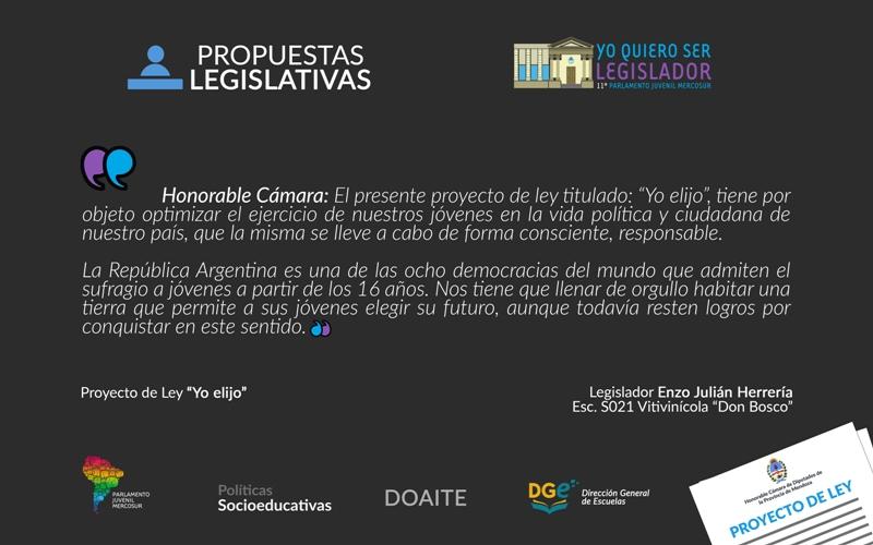 Parlamento Juvenil MERCOSUR_inauguración del XI encuentro (6)